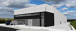 Fachada - Nave industrial en alquiler en calle Garbi, Parets del Vallès - 317173575