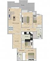 Plano distribución - Piso en venta en calle Espronceda, Navas en Barcelona - 333877800