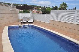 Piscina - Casa en alquiler en Montemar en Castelldefels - 312543935