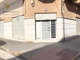 Fachada - Local en alquiler en calle Las Flores, Torrellano - 325867546