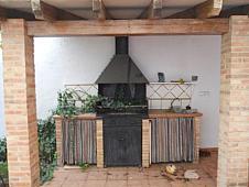 Patio - Casa adosada en venta en paseo De la Estacion, Zona Sur en Riba-roja de Túria - 196012378