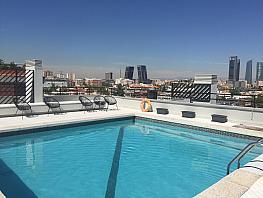 Piscina - Dúplex en alquiler en calle Alberto Alcocer, Bernabéu-Hispanoamérica en Madrid - 334057399