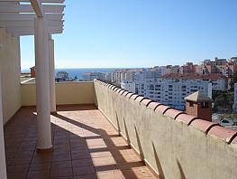 Ático-dúplex en alquiler en urbanización Cerca la Cañada, Playa Bajadilla-Puertos en Marbella - 393290446