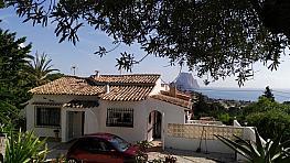 Fachada - Villa en venta en urbanización Canuta de Ifach, Calpe/Calp - 348632444