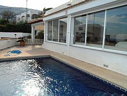 Fachada - Villa en venta en urbanización Canuta de Ifach, Calpe/Calp - 381117537
