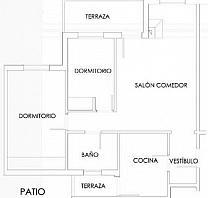 - Piso en alquiler en calle Transformador, Matalpino - 191734408