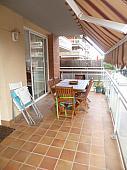 Terraza - Piso en alquiler en Montanyeta en Castelldefels - 153271481