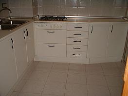 Cocina - Piso en alquiler en calle Pedro Coca, Centro en Albacete - 314533157