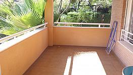 Terraza - Piso en alquiler en calle Ermita Nova, Godella - 331310931