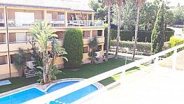 Terraza - Ático-dúplex en alquiler de temporada en calle Ermita Nova, Godella - 331313085