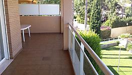 Terraza - Ático-dúplex en alquiler de temporada en calle Ermita Nova, Godella - 331321474