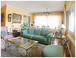 Salón - Casa pareada en alquiler en calle Marqués de Villabrágima, Peñagrande en Madrid - 287680168