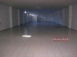 Foto desde la puerta calle.jpg - Local comercial en alquiler en calle Mestre Recasens, Poble nou en Vilafranca del Penedès - 203291948