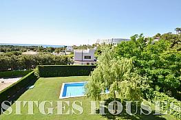 Vistas - Casa en alquiler en calle Cami Can Girona, Can Girona en Sitges - 346943984