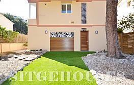 Fachada - Casa en alquiler en calle Jacint Verdaguer, Poal en Castelldefels - 354566717