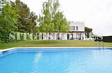 Piscina - Casa en alquiler en calle Cami Can Girona, Can Girona en Sitges - 188743466