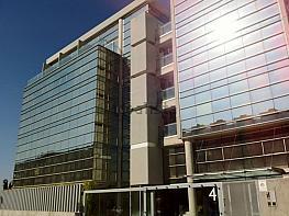 Fachada - Oficina en alquiler en calle Arquimedes, Valdepelayo-Arroyo Culebro en Leganés - 333697477