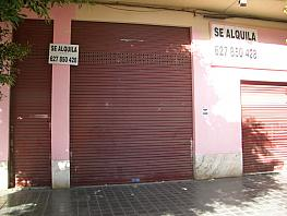 Fachada - Local comercial en alquiler en calle Peris y Valero, Russafa en Valencia - 361616801
