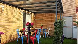 Terraza - Ático en alquiler de temporada en calle Montichelvo, Ciutat de les Arts i les Ciències en Valencia - 258726749