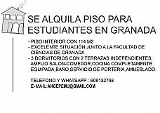 Pisos en alquiler Granada, Ronda