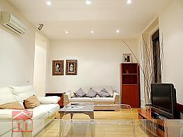 Salón - Piso en alquiler en calle Magdalena, Sol en Madrid - 378603544