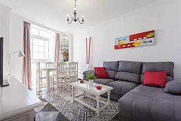 Salón - Apartamento en alquiler de temporada en calle Vendimiadores, Conil de la Frontera - 280711830