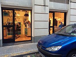 Fachada - Local comercial en alquiler en calle Sant Eusebio, Vila de Gràcia en Barcelona - 277585662