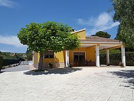 Fachada - Chalet en venta en urbanización Partida Vistabella, Xàtiva - 302229142