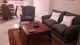 Salón - Apartamento en alquiler en barrio Don Carlos, Divina Pastora en Marbella - 342534898