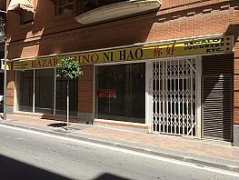 Fachada - Local comercial en alquiler en calle Pizarro, Villajoyosa/Vila Joiosa (la) - 320295011