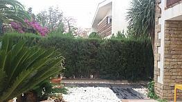 Terraza - Casa pareada en alquiler en calle Valentia, Pobla de Vallbona (la) - 334784761