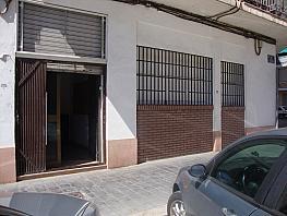 Fachada - Local comercial en alquiler en plaza Pedagogo Peztalozzi, Montolivet en Valencia - 335213216