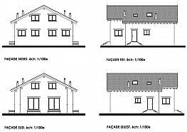 Plano - Casa pareada en venta en calle Enveitg, Puigcerdà - 348637847