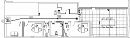 Plano - Oficina en alquiler en calle Salvador Alonso, San Isidro en Madrid - 363139253