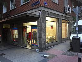 Fachada - Local comercial en alquiler en calle Alcalde López Casero, Ventas en Madrid - 330132082
