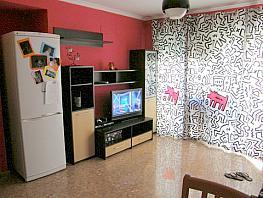 Salón - Apartamento en alquiler en calle San Vicente, Bonrepòs i Mirambell - 315895914