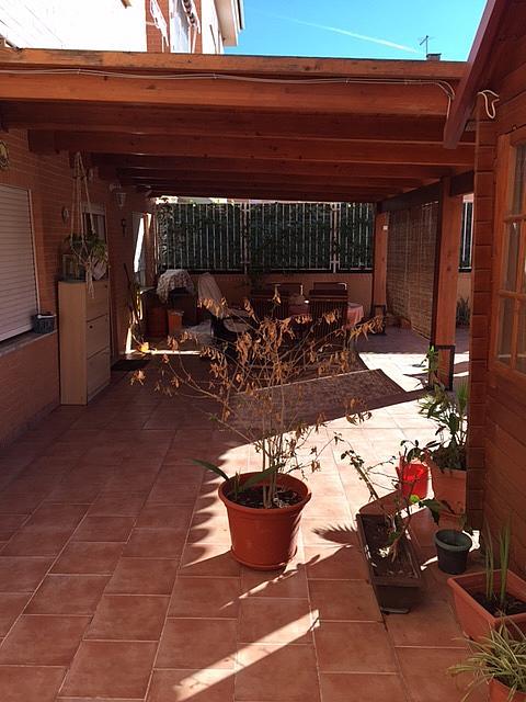 Terraza - Bajo en alquiler en calle Peñiscola, Alameda Park en Manises - 321257822