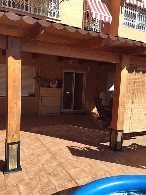 Terraza - Bajo en alquiler en calle Peñiscola, Alameda Park en Manises - 321257826