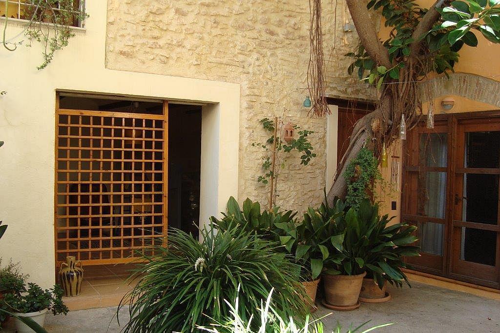 Patio - Casa en alquiler en calle Mercado, Quart de Poblet - 147644298