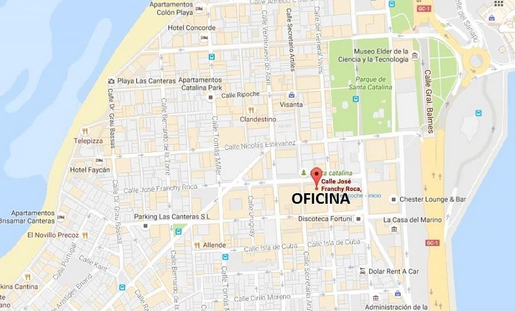Oficina en alquiler en Santa Catalina - Canteras en Palmas de Gran Canaria(Las) - 358112204