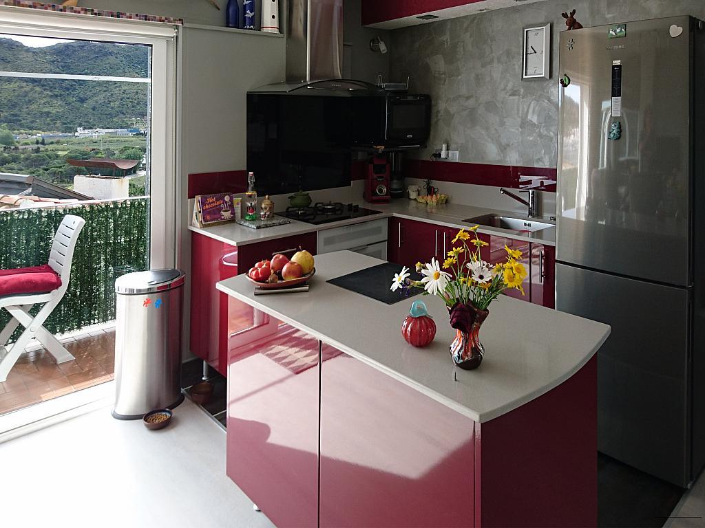 Cocina - Apartamento en venta en calle Panoramar, Port de la Selva, El - 273054234