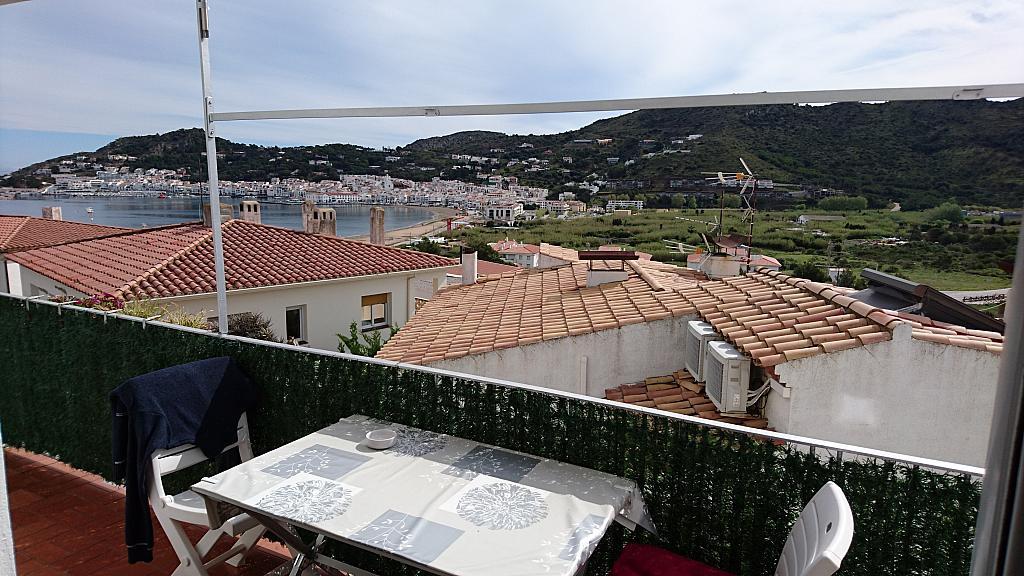 Balcón - Apartamento en venta en calle Panoramar, Port de la Selva, El - 273054242