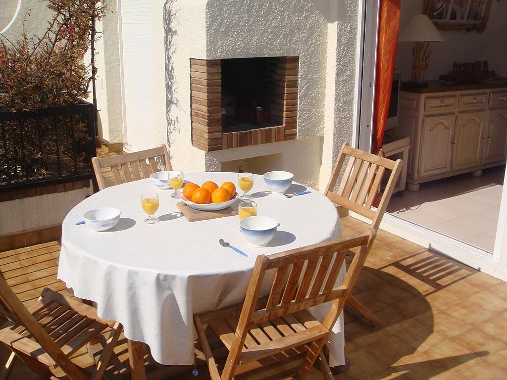Terraza - Apartamento en venta en calle Garrotxa, Llançà - 296600304