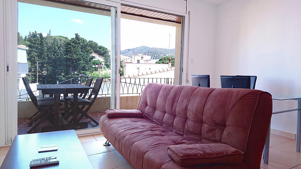 Salón - Apartamento en venta en calle Vall de Sol, Llançà - 323957086