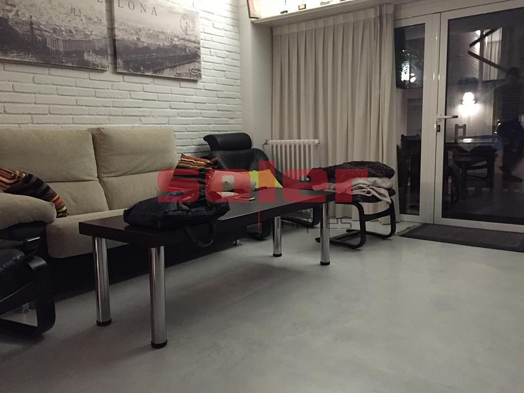 Salón - Casa adosada en alquiler en calle Mozart, Centre en Sant Cugat del Vallès - 331312434
