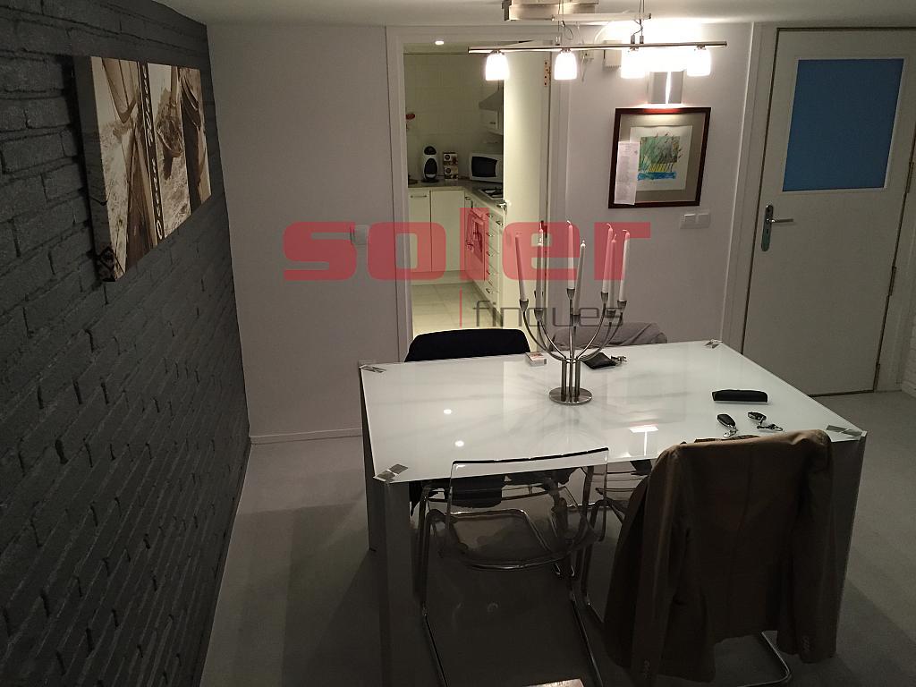 Comedor - Casa adosada en alquiler en calle Mozart, Centre en Sant Cugat del Vallès - 331312438