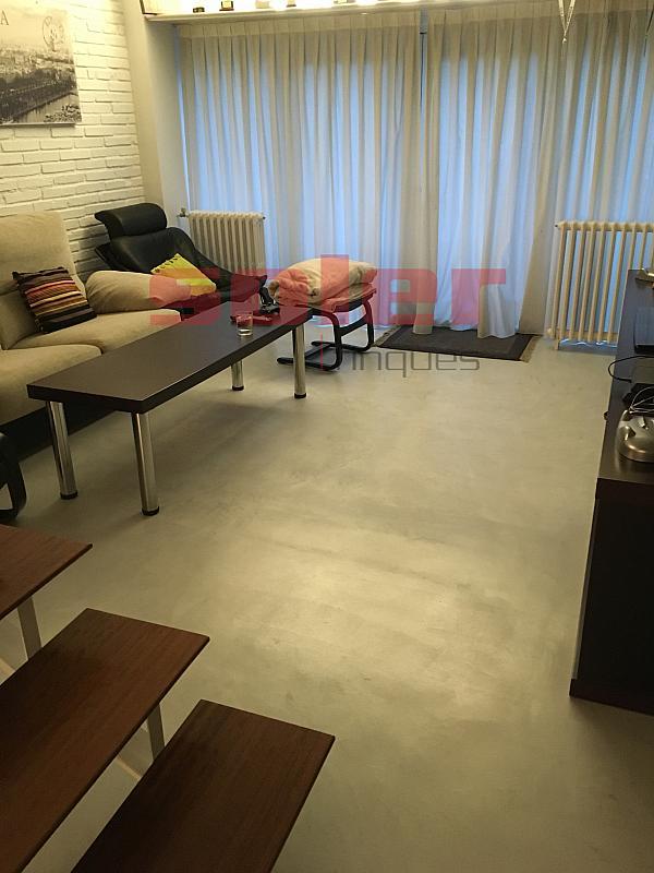 Salón - Casa adosada en alquiler en calle Mozart, Centre en Sant Cugat del Vallès - 331312587