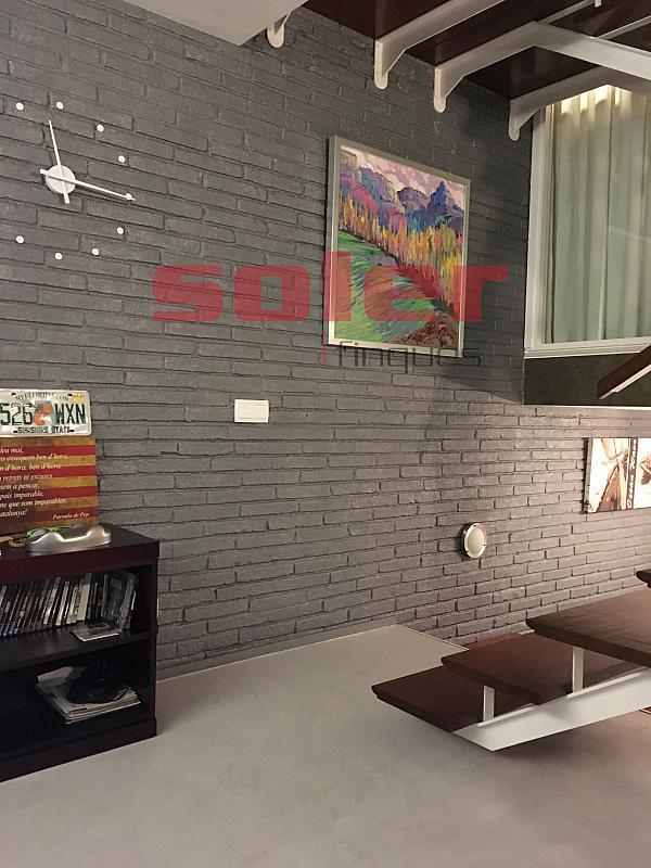 Salón - Casa adosada en alquiler en calle Mozart, Centre en Sant Cugat del Vallès - 331312640