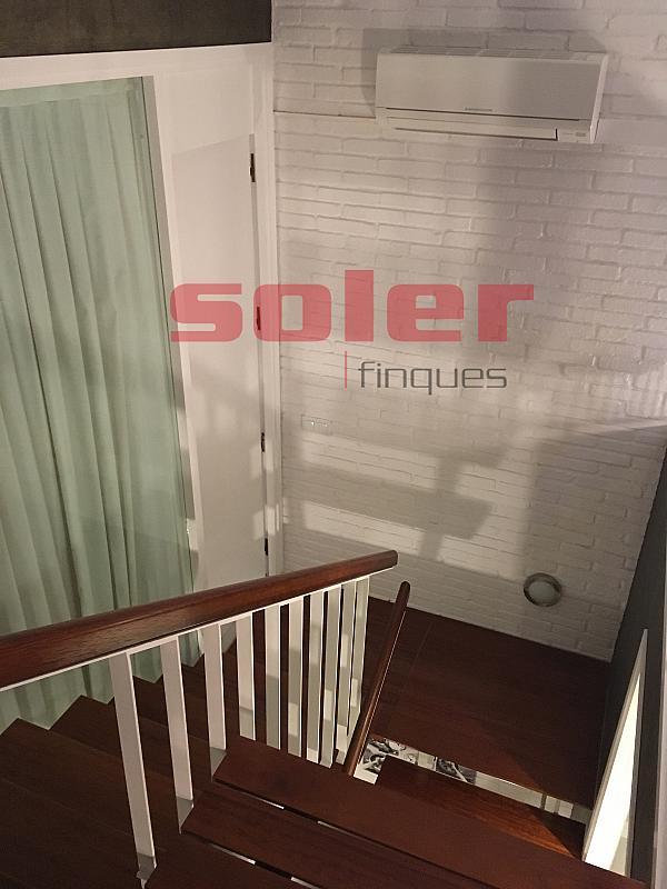 Salón - Casa adosada en alquiler en calle Mozart, Centre en Sant Cugat del Vallès - 331312642