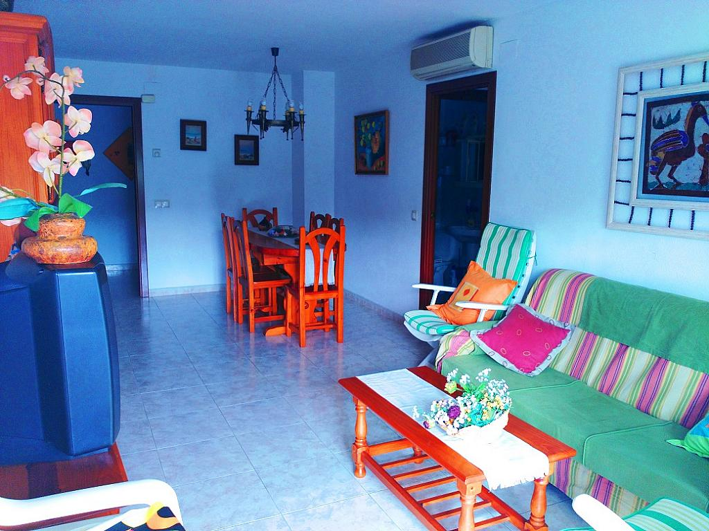 Salón - Piso en alquiler de temporada en pasaje Merçe Rodoreda, Calella - 285270183